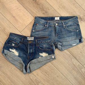 One Teaspoon & Hudson Shorts Lot